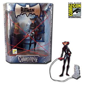 The Batman Catwoman Action Figure With Idol SDCC 2005 Mattel Exclusive
