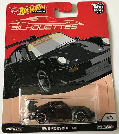 2018 Hot Wheels Silhouettes RWB Porsche 930 4/5