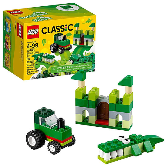 Lego Classic Green Creativity 10708