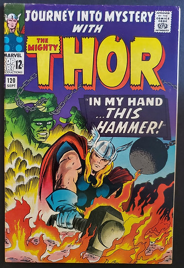 Thor (1962-1996 1st Series Journey Into Mystery) #120 VF