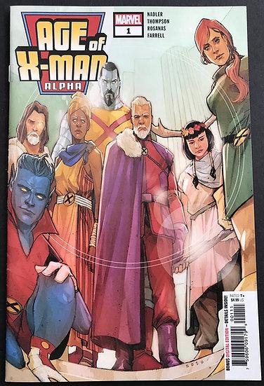 Age of X-Man Alpha (2019) #1 NM