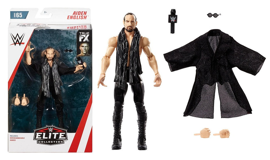 WWE Elite Collection Series 65 Aiden English Wrestling Figure