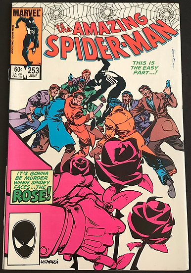Amazing Spider-Man 253 [1st appearance of Rose] VF