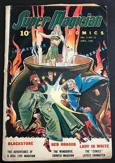 Super Magician Comics Vol. 3 (1944) #12 VG-