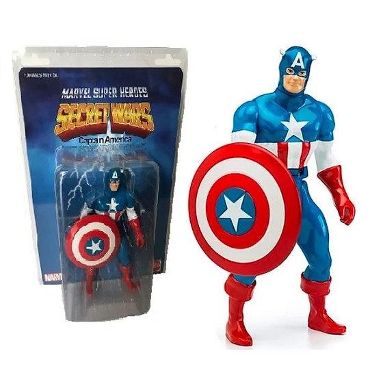 Marvel Super Heroes 12 inch Jumbo Figure Secret Wars Captain America