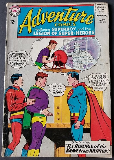 Adventure Comics (1938 1st Series) #320 VG