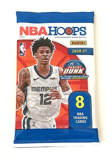 2020-21 Panini NBA Hoops Basketball Hot Pack