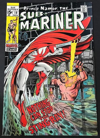 Sub-Mariner (1968 1st Series) #19 FN/VF