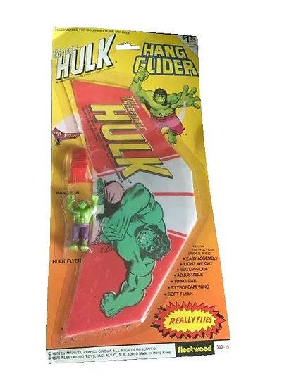 1978 Vintage The Incredible Hulk Hang Glider - Fleetwood  New Sealed
