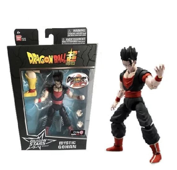 Dragon Ball Stars Action Figure Wave Series 6 Mystic Gohan Dragon Ball Fighter Z