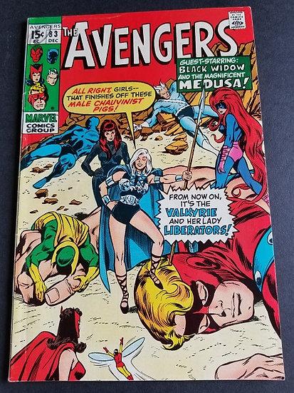 Avengers (Marvel ) #83 FN [1st appearance of Valkryie.]