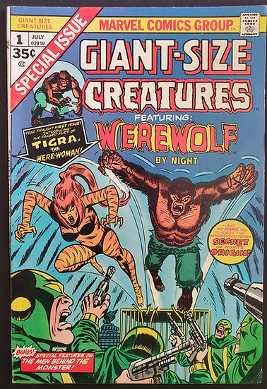 Giant Size Creatures (Marvel) #1