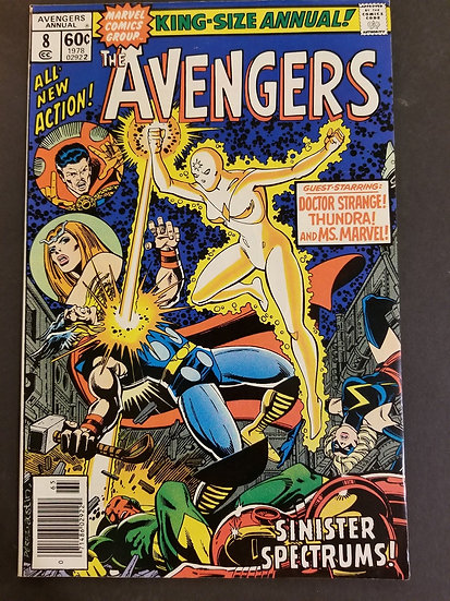 Avengers (Marvel ) Annual #8 VF/NM