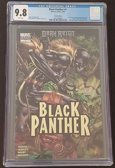 Black Panther #1 Variant Edition CGC 9.8 White Pages.1st Shuri as Black Panther.