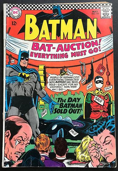 Batman #191 VG