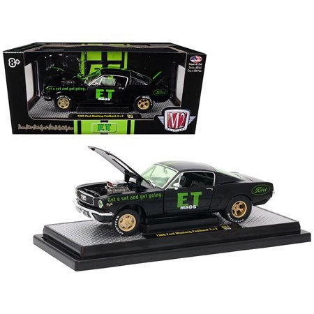 1966 Ford Mustang Fastback 2+2 R61 1/24 Diecast Model Car by M2 Machines