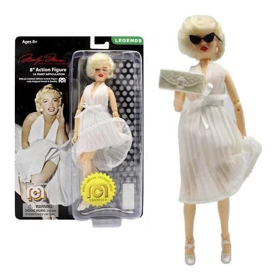 Mego Legends Marilyn Monroe in White Dress Action Figure