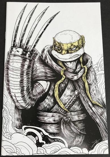 Teenage Mutant Ninja Turtles (IDW) #97 NM [Mike Vasquez Jennika Variant]