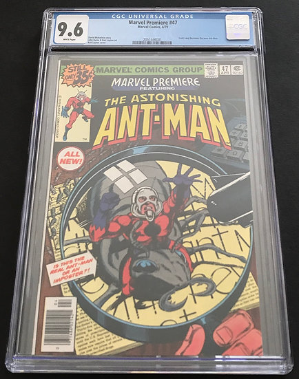 Marvel Premiere 47 CGC 9.6 White Pages