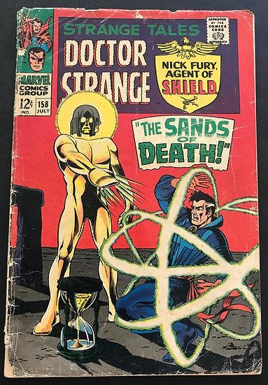 Strange Tales (1951-1976 1st Series) #158 GD-