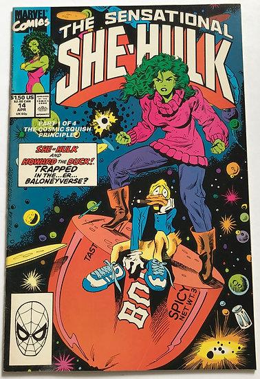 Sensational She-Hulk (Marvel) #14 VF-
