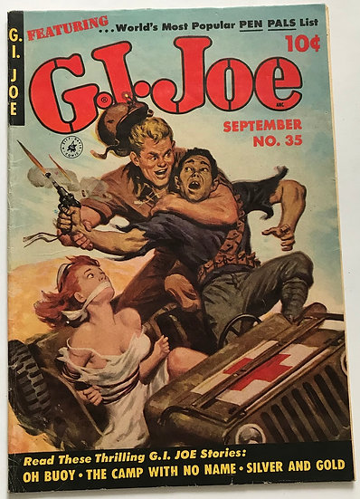 GI Joe (1951 Ziff Davis) #35 FN