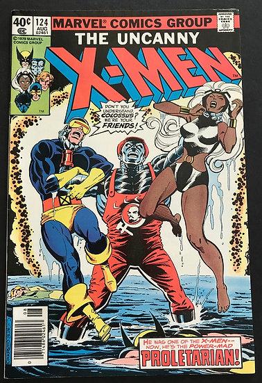 X-Men (1963 1st Series) #124 NM-