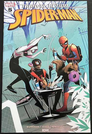 Marvel Action Spider-Man (2018 IDW) #5RI NM [Incentive Variant Cover]