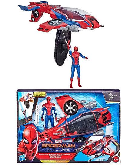 Marvel Spider-Man Far From Home Spider-Jet with Spider-Man Figure