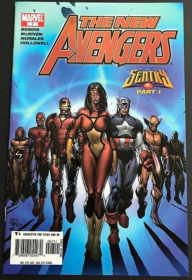 New Avengers (2005 1st Series) #7 VF