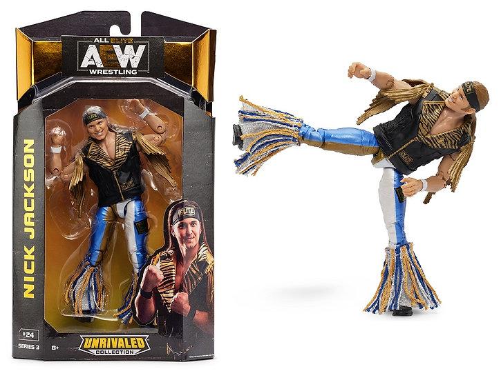 AEW Unrivaled Series #3 Nick Jackson Wrestling Figure