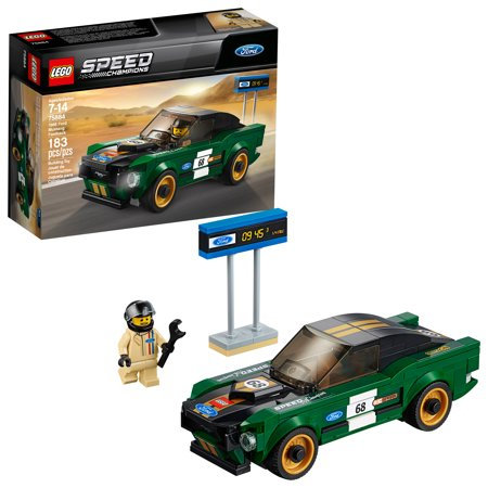Lego Speed Champions Ford 1968 Ford Mustang Fastback 75884