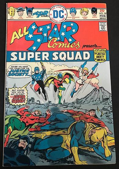 All Star Comics (1940-1978) #58 VF-