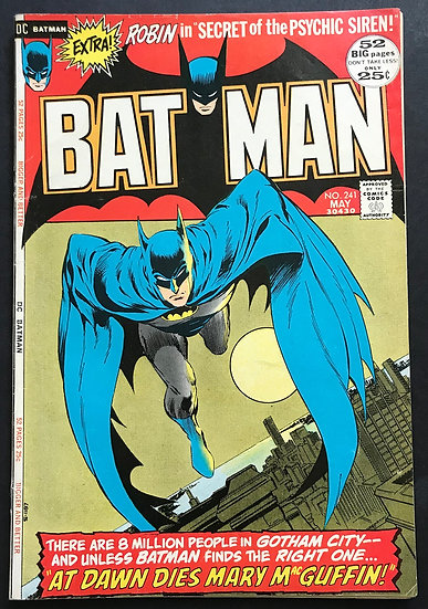 Batman #241 FN/VF