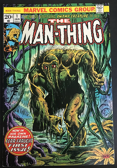 Man-Thing (1974 1st Series) #1 VF/NM [1st Man-Thing titled series]
