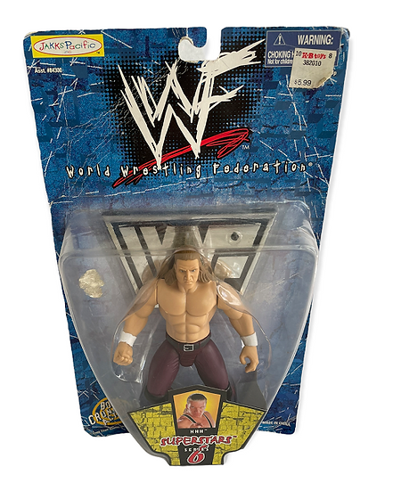 1998 WWF Superstars Series 6 HHH Bone Crunching Action Figure
