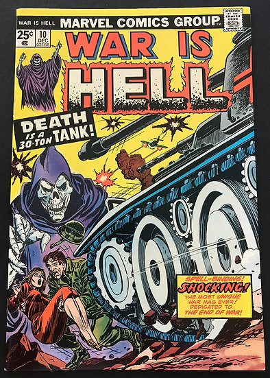War is Hell (1973 Marvel) #10 NM-