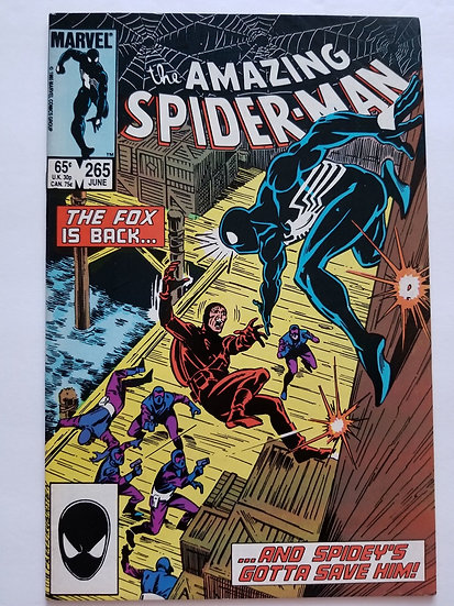 Amazing Spider-Man (1963 1st Series) 265A VF+ [1st Appearance of Silver Sable]