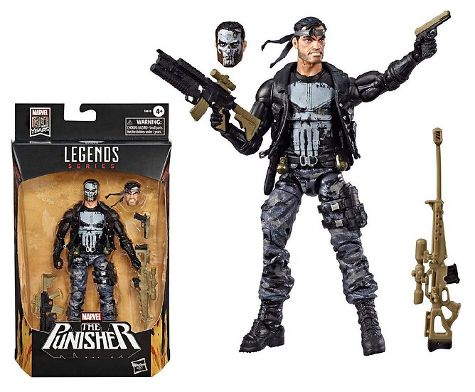 Legends Series [Marvel 80 Years] The Punisher Action Figure