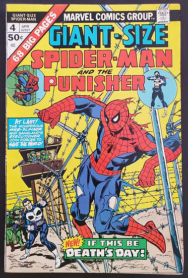Giant Size Spider-Man (1974) #4 FN/VF [3rd Punisher 1st Battle Wagon]