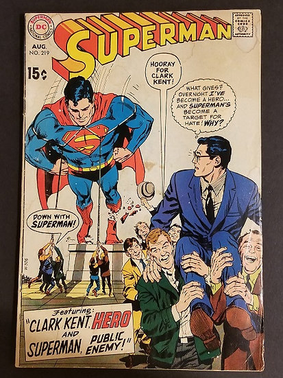 Superman (1939 1st Series) #219 VG