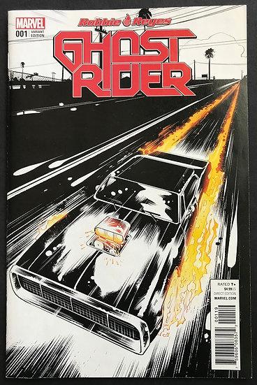 Ghost Rider (2016 Marvel) Robbie Reyes #1C VF/NM