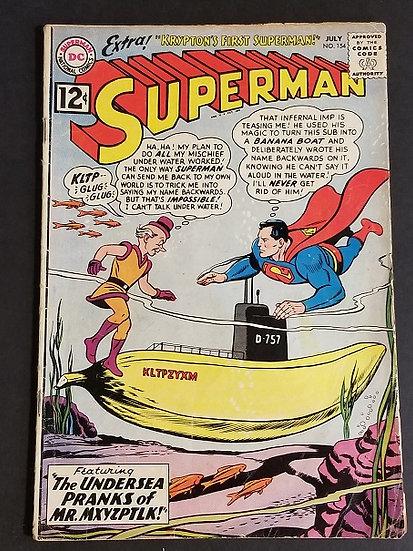 Superman (1939 1st Series) #154 VG
