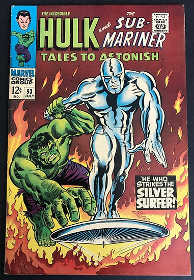 Tales to Astonish (1959-1968 1st Series) #93 VF-