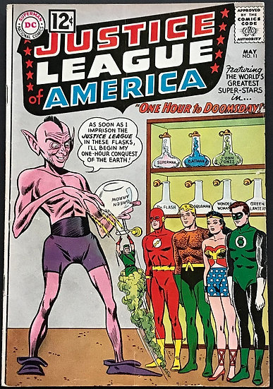 Justice League of America (1960 1st Series) #11 FN