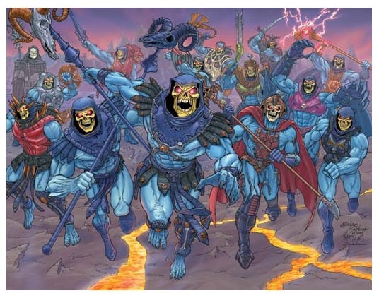 Master Of The Universe Skeletor Limited Edition Lithograph Poster