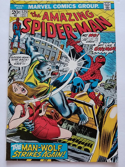 Amazing Spider-Man (Marvel) #125 FN/VF