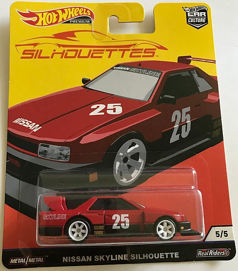 2018 Hot Wheels Nissa Skyline Silhouette 5/5