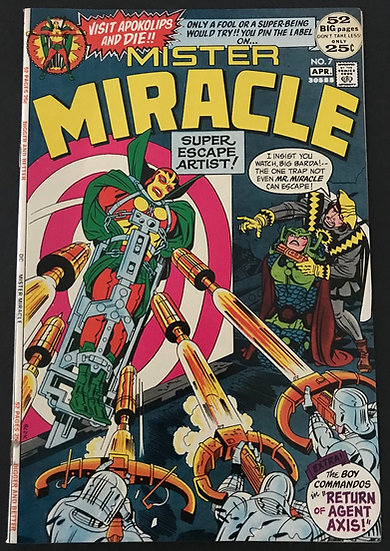 Mister Miracle (1971 1st Series) #7 NM