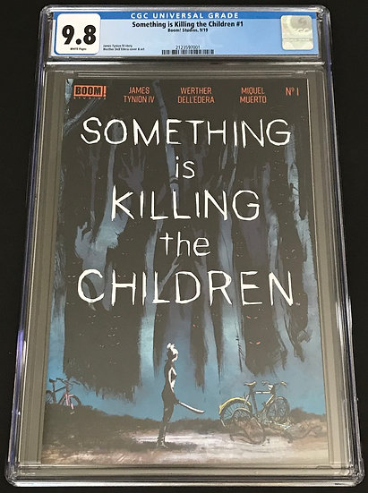 Something Is Killing The Children 1 CGC 9.8 White Pages